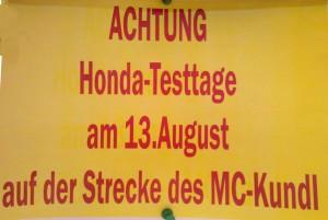 Honda Test Kundl