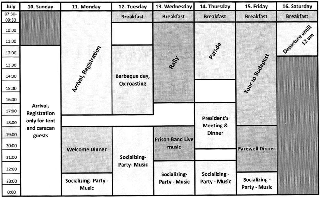 weeks program