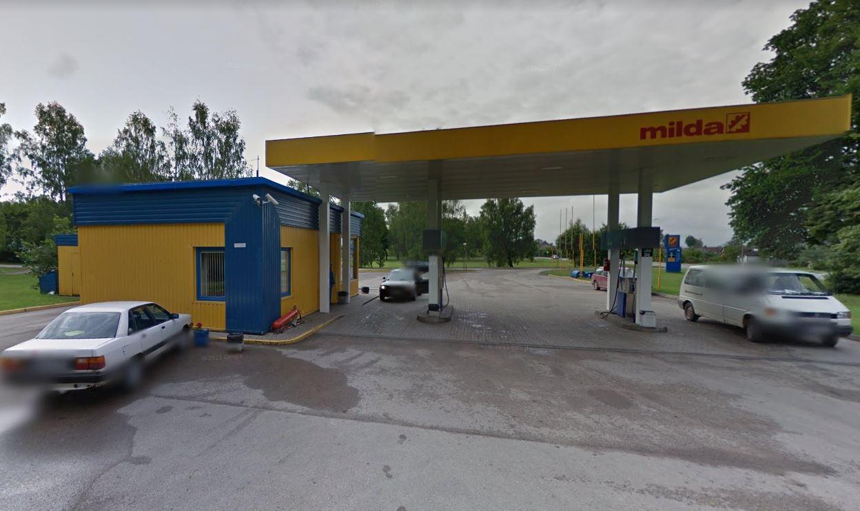 Milda Tankstelle