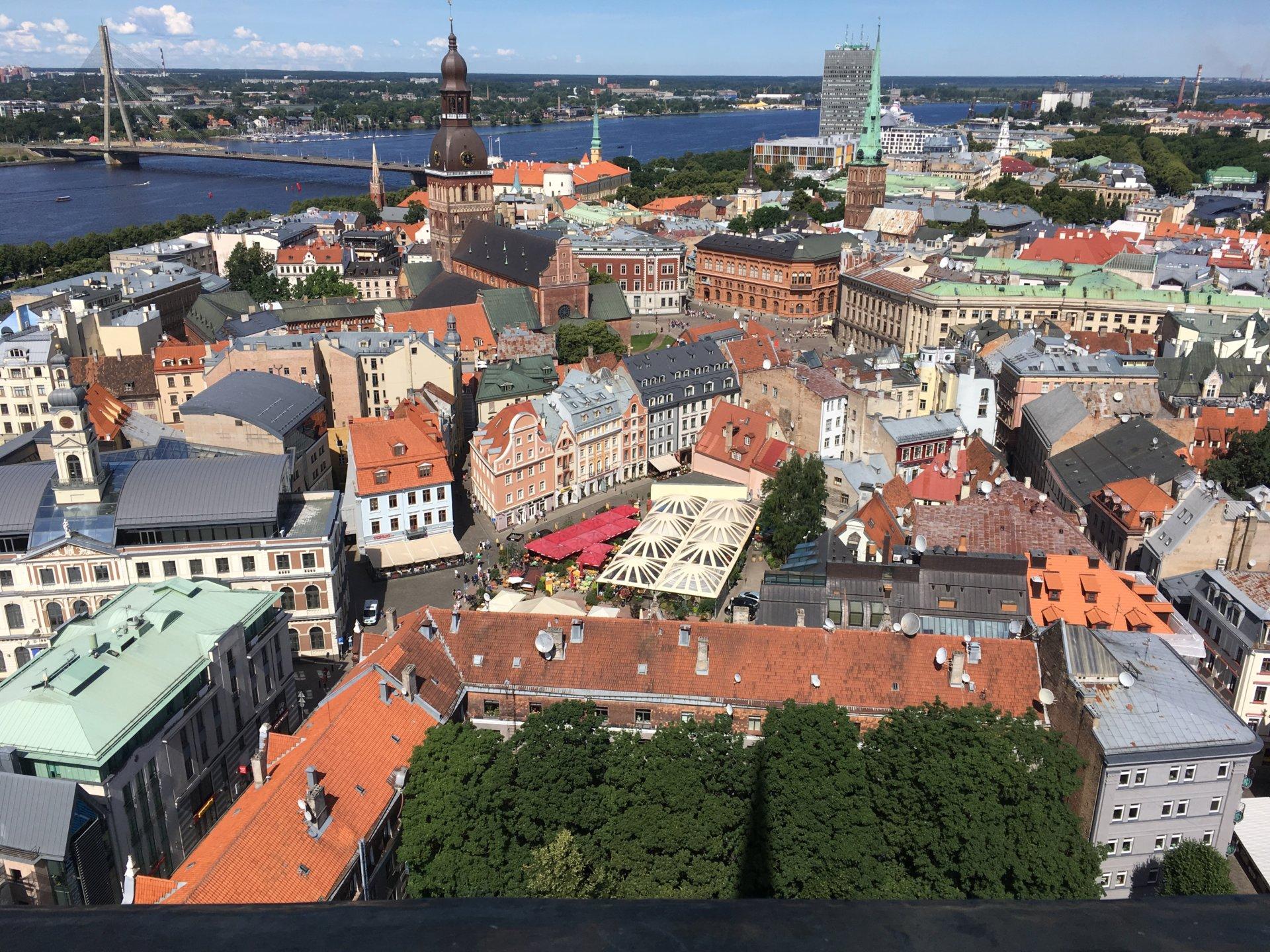 Riga 24 Aussicht