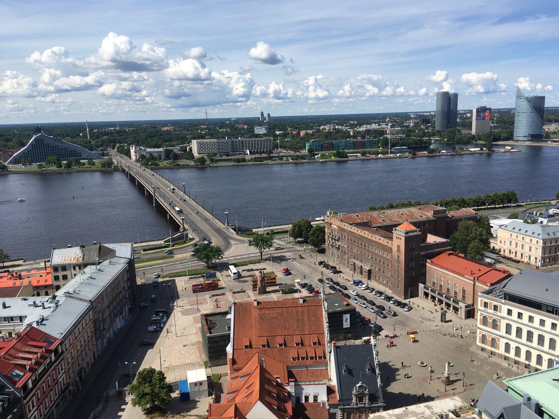 Riga 25 Aussicht