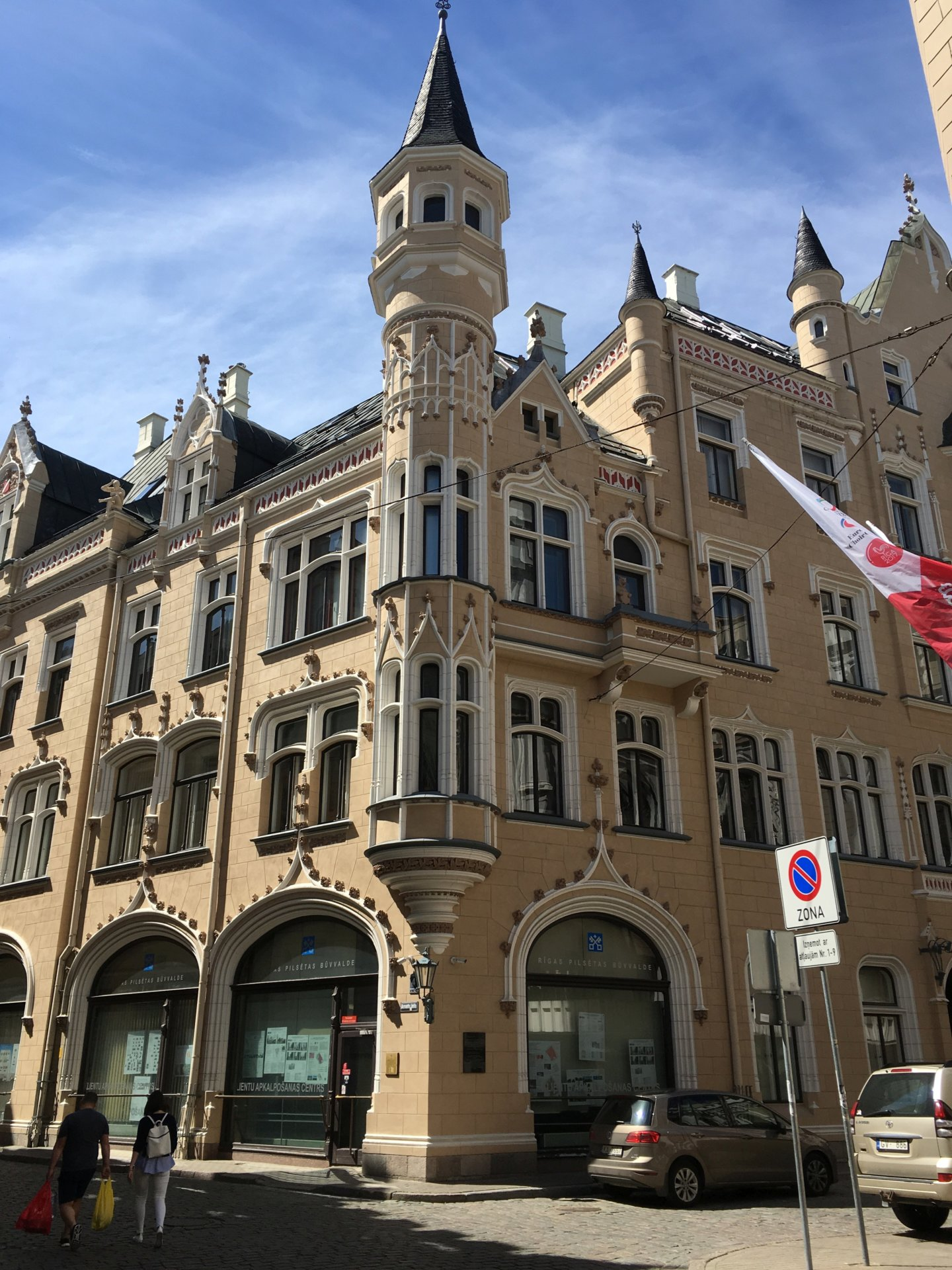 Riga 67 Gebäude